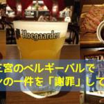 神戸でベルギーを満喫!「ラピュタザフランダーステイル」 でサノケンの一件を謝罪してきた!