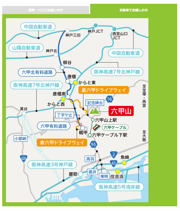 六甲山アクセス2