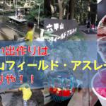 【関西日帰りおでかけスポット】夏休みは「六甲山フィールド・アスレチック」が子供も大人も楽しめるから行っておけ!