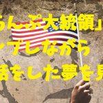 「とらんぷ大統領」とホワイトハウスでトランプしながら世間話をした夢を見た!