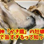 梅田・お初天神「かき鐵」が超新鮮の牡蠣ざんまいで旨過ぎた!裏参道の名店を口コミレビュー!