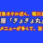 京都・堀川五条の居酒屋「魚魚丸(ぎょぎょ丸)」が天ぷら、串カツ、寿司何でもOKでコスパ最高な件!