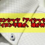 【口コミ感想】ノーアイロンシャツ「アイシャツ(i-Shirt)」は本当にアイロン不要か、1年着て確かめてみた!