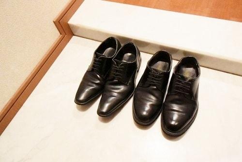革靴をローテーションで履く