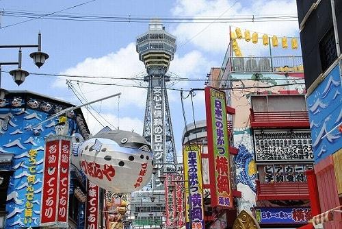 大阪の新世界にある通天閣