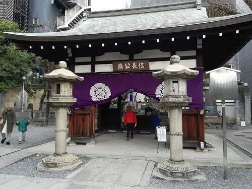 本能寺 場所