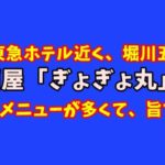 コスパ最高な堀川五条の居酒屋「魚魚丸(ぎょぎょ丸)」のメニューの多さにしびれた!