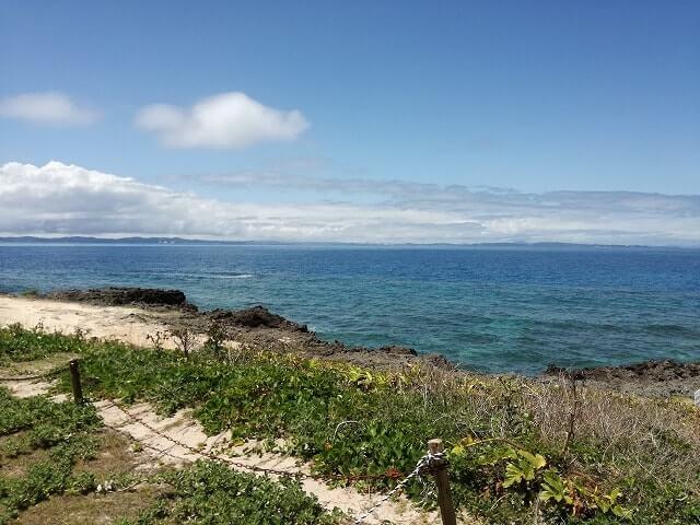 カベール岬から見る海
