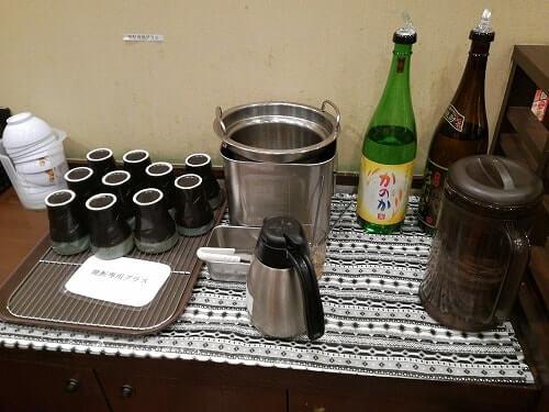 丸亀製麺飲み放題には焼酎もある!