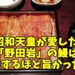 野田岩の鰻が超旨い