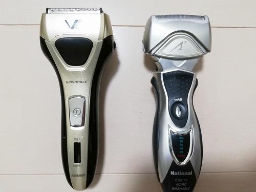 IZUMI電気シェーバーとパナソニック・ラムダッシュを比較