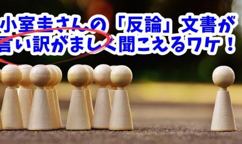 小室圭さんの「反論文書」が言い訳がましく聞こえるワケ